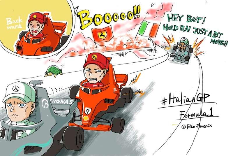 F1 イタリアGP 2018