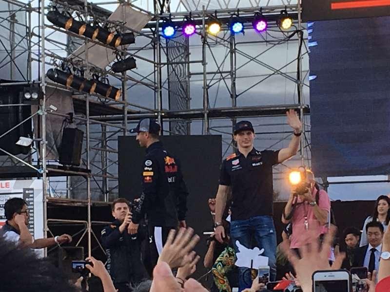 F1日本グランプリ:レッドブルトークショー