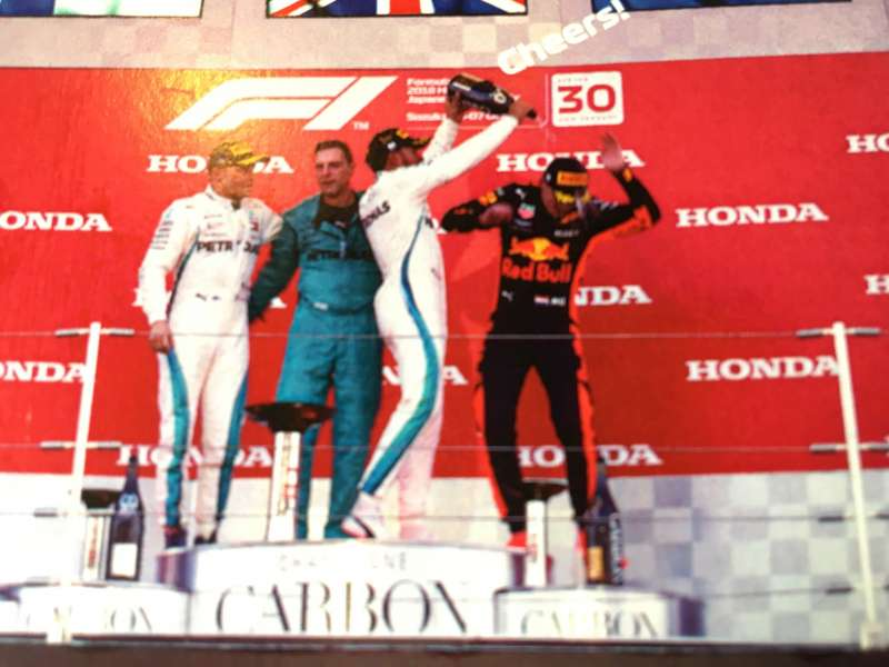 F1日本グランプリ2018ウィナーズカード