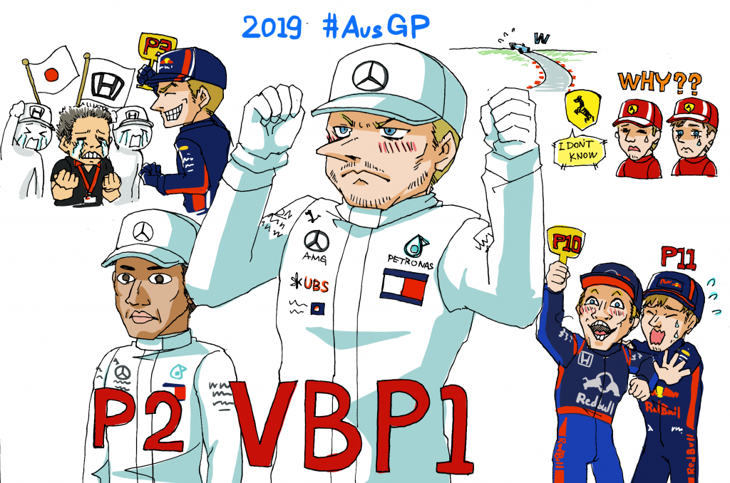 F1オーストラリアGP結果(2019年)