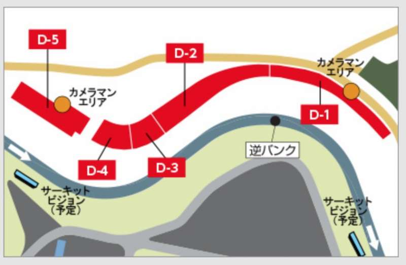 F1日本グランプリ・D席