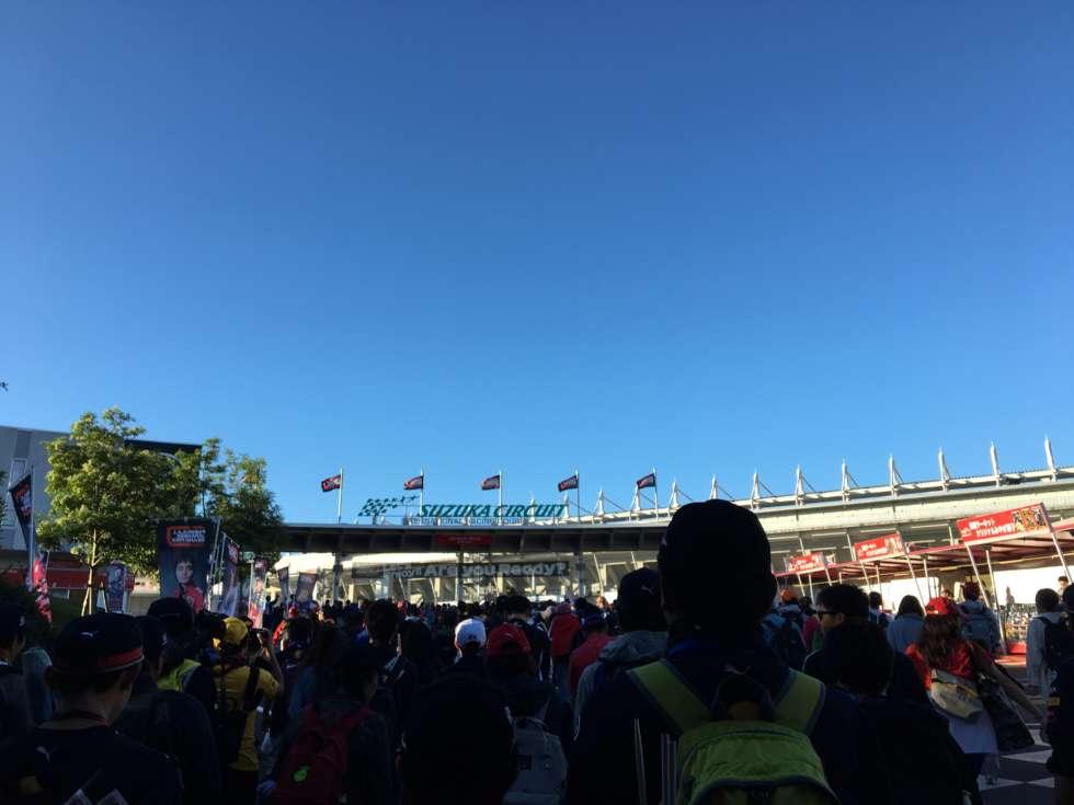 【F1日本GP】開門!