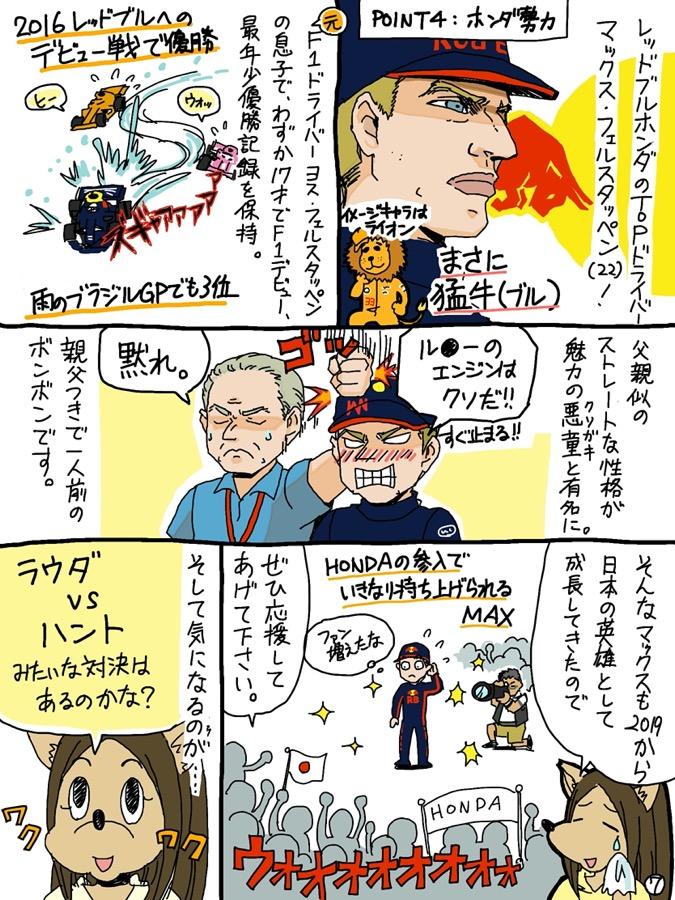 F1初心者向け「F1はじめてマンガ」(7/9)