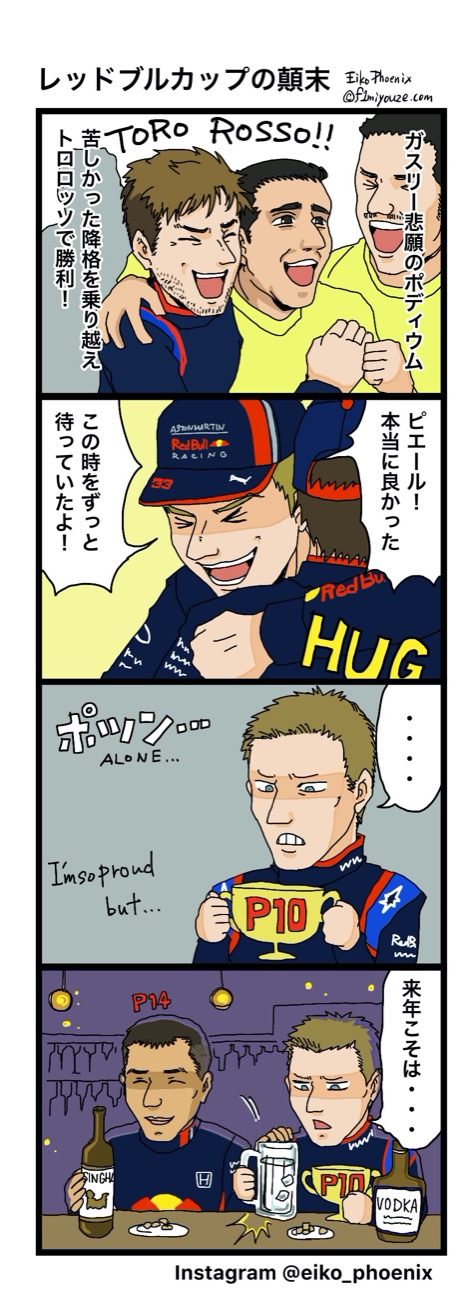 2019ブラジルGP F1漫画